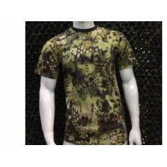 T-SHIRTS GREEN CAMOUFLAGE C...