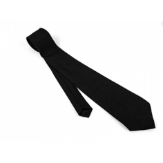 SIMPLE BLACK NECKTIE