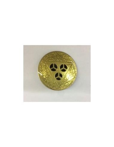 Emblema de metal militar
