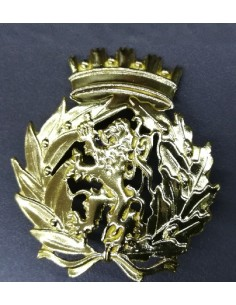 Emblema de boina em metal...