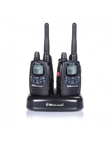 Pacote de 2 rádios PMR446 G7 Pro...