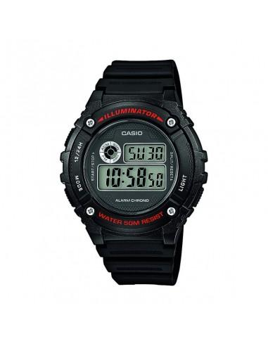 Relógio CASIO W-216H-1AVEF, ø 44mm
