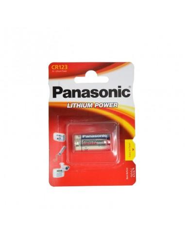 Bateria de lítio 3V Panasonic CR123A...