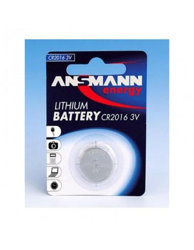 Pilha de botão ANSMANN CR 2016 Lithium
