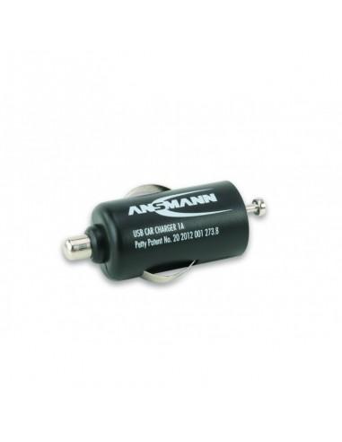 """ANSMANN® """"Carregador de isqueiro USB 1A"""""""
