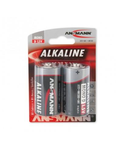 Bateria alcalina de célula D mono...