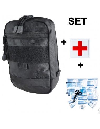 Kit de primeiros socorros - contém 23...