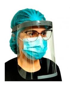 Viseira de proteção facial...