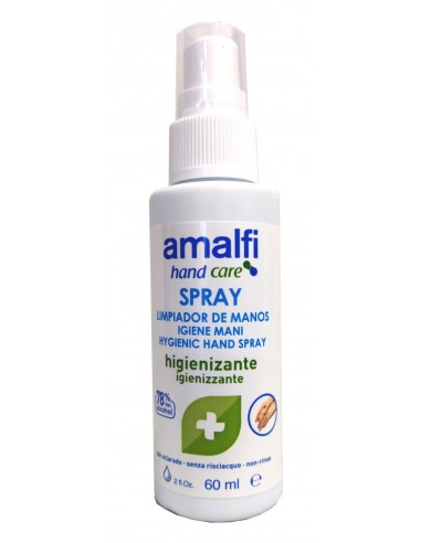 SPRAY LIMPADOR HIGIENIZANTE 60ML AMALFI