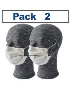 Máscara reutilizável de...