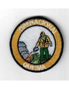 Emblema bordado C/ velcro...