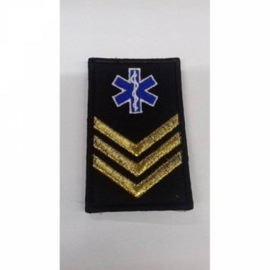 Motto Velcro Star of Life Firefighters