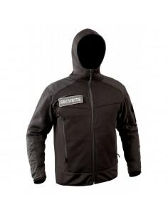 Jaqueta de jersey essencial preta