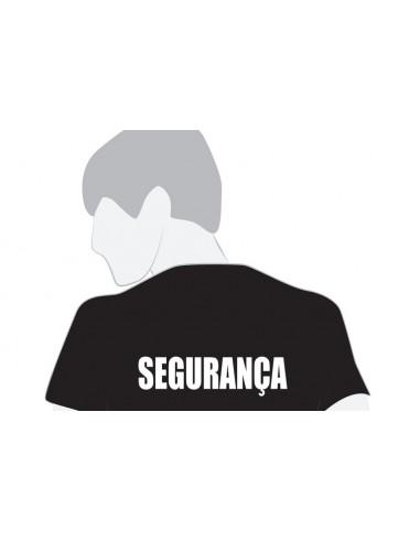 """T-shirt 100%algodão """"SEGURANÇA"""""""