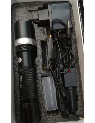 Lanterna recarregável 2000w