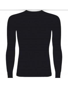 - Shirt Thermique, noir