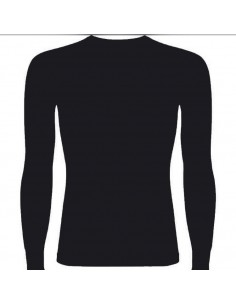 Camiseta Térmica y negro
