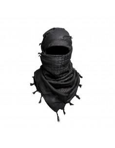 Shemagh Touareg en noir