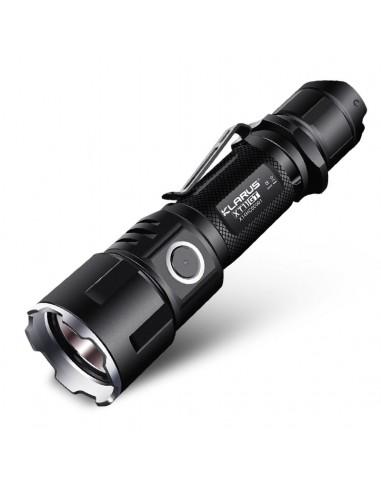 Lampe-torche tactique rechargeable...