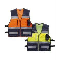 Bicolor High Visibility Vest