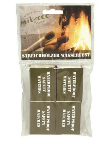 Fósforos resistentes à água 4 pacotes...