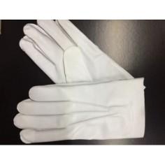 White Gala Gloves