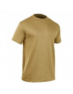 T-shirt 100% algodão - tan