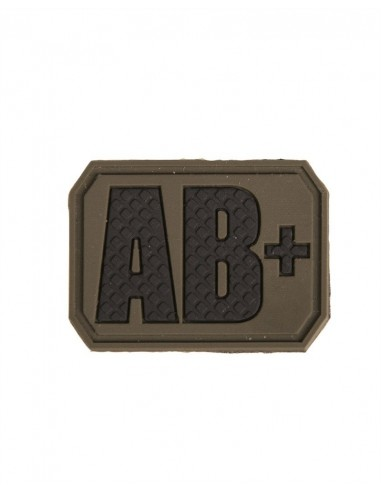 PATCH 3D BLOOD TYPE - AB POSITIVE