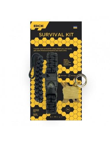 Survival Kit EDCX , Black