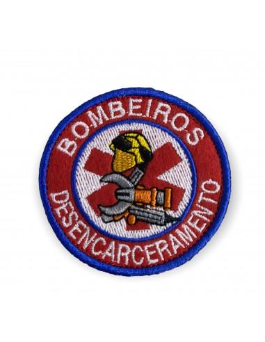 EMBLEMAS BORDADOS BOMBEIROS COM...