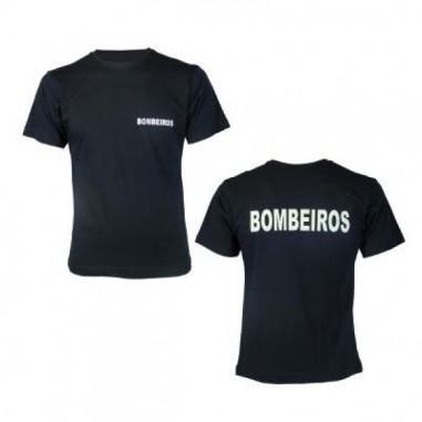T-shirt Bombeiro